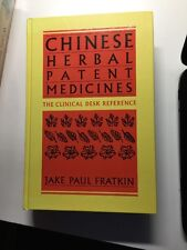 Chinese Herbal Patent Medicines