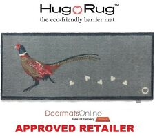 Hug Rug 150x65cm (PHEASANT 1) Dirt Trapper Door Mat / Runner Machine Washable