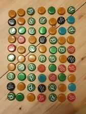 70 Beer Bottle Tops Lids.Lot 1