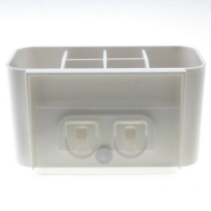Electric Toothbrush Toothpaste Holder Caddy Stand Organizer Seamless Stickers