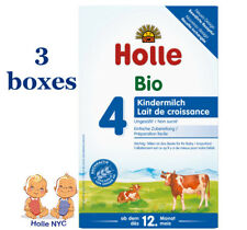 *FREE PRIORITY MAIL* Holle stage 4 Organic Formula 05/2019, 600g, 3 BOXES