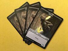 MTG X4 Demon 5/5 Token NM/M Magic the Gathering