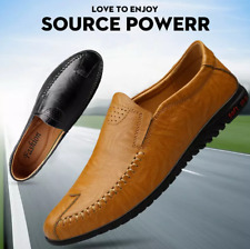 Men's Pumps Slip on Loafers Breathable Soft Comfy Casual Driving Moccasins Shoes