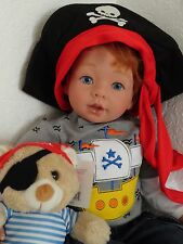 "Reborn 22"" Toddler Boy Doll ""Aiden"" -Pirate Theme!"