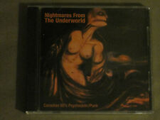 V/A NIGHTMARES FROM THE UNDERWORLD: CANADIAN 60's PSYCHEDELIC/PUNK 2-CD RARE VG+