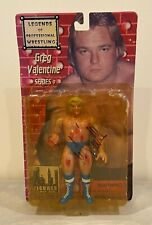 Greg Valentine Signed WWF Action Figure Autographed JSA COA AUTO WWE Wrestling