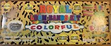 New Royal Loom Bands Kit Colorful by Diy 600 Pc Bands + 6 Charms Free Shipping
