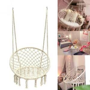 Fauteuil hamac suspendu extérieur jardin chaise design 1 place jardin intérieur