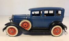 Vintage Hubley Ford Model A Town Sedan Metal Kit Built #854-5k Nice