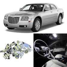 For 2005-2010 Chrysler 300 Xenon White LED Interior Lights Kit 12 Pieces