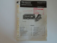 KENWOOD TRIO TR-751A/E (GENUINE SERVICE MANUAL ONLY).....RADIO_TRADER_IRELAND.