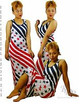 "KenJeanne /""Puerto Rico Flag Star /& Stripes/"" Mini Dress"