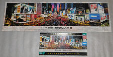 Times Square New York City Panorama Jigsaw Puzzle Buffalo Games 750 Pieces 38x11