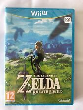 Legend of Zelda Breath of the Wild Nintendo Wii U [NEW]