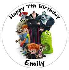"Hotel Transylvania Disney Personalised Birthday Cake Topper Edible 7.5"" Wafer"