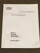 Fanuc Series 0, Series 00 & Series 0-Mate Maintenance Manual