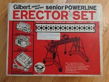NO RESERVE 1969 Gilbert RC Senior Powerline Erector Set No. 49-16075/32158 LOOK