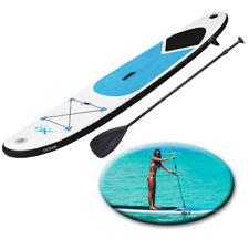Paddle Board 10 FT (ca. 3.05 m) Blu Sport Surf Gonfiabile Stand Up Borsa Da Acqua RACING SUP POMPA