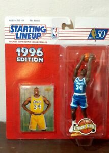 Vintage Starting Lineup Shaquille O'Neal 1996 Factory Sealed Rare