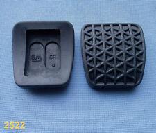 (2522) 2x pedales bremspedalgummi embrague pedal goma pedal de goma para Opel GM