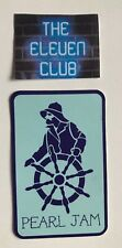 Pearl Jam Sticker Rare Club Salty Sailor Seattle WA MINT LP CD Art New Vedder LE