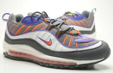NIKE AIR MAX 98 TOTAL ORANGE GREY 2018 QS OG US10 UK9 EU44 gundam atmos 1 90 hoa