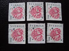 SUEDE - timbre yvert et tellier n° 2020 x6 obl (A29) stamp sweden