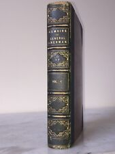 1st Edition Vintage 1875 Book Memoirs General William Sherman - Civil War, Vol 1