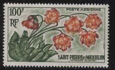 St Pierre & Miquelon 1960 Flowers set Sc# 360/C24 NH