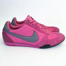 Vintage 2006 Nike Women's Sprint Sister Running Pink Suede Shoes Sneakers US 9