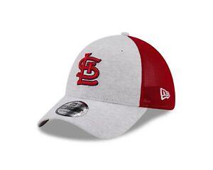 St. Louis Cardinals  New Era MLB Trucker Tech Mesh 39THIRTY Flex Hat