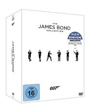 The James Bond Collection inklusive Spectre [24x DVD] NEU Alle 24 Filme DEUTSCH