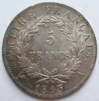 Top! France 5 Francs 1813 A IN Extremely fine