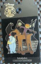 Disney DLR Halloweentown Collection 2005 Behemoth & Pumpkin King Scarecrow Pin