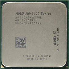 AMD FM2 A6-6400K 3.9 Ghz Dual Core, 4.1 Ghz OC with Heatsink/Fan/Silicon