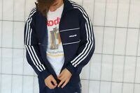 Adidas Vintage 80s 90s Jacke jacket Sweater Gr. D6 US M EP7