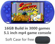JXD New 5.1 inch 16GB 128Bit Retro Handheld Video Game Console Built-in 3000