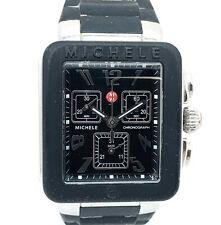 Michele MWW06L000002 Park Jelly Bean Black Carousel 33mm Unisex Watch