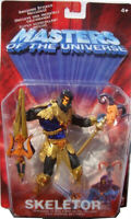Motu Gold Disco SKELETOR new 2002 200x Masters Of The Universe He-Man