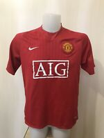 Manchester United 2007/2008/2009 Home Size L Nike football shirt jersey soccer
