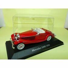 Voitures de tourisme miniatures Mercedes
