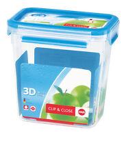 """Emsa Pot de 1 6 L rectangulaire """"clip & Close 3d Clean"""". 508543"""