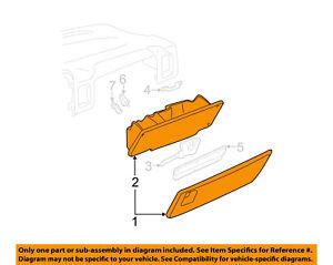 GM OEM-Glove Compartment Box Assy 15807879