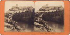 Port de Lourdes France Photo Stereo Vintage Albumine ca1870