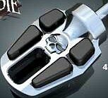 Victory brake pedal-shifter kit Vision Cross Road Cross Country Magnum Skull