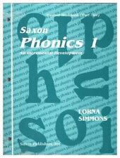 SAXON Phonics 1 Workbook Set