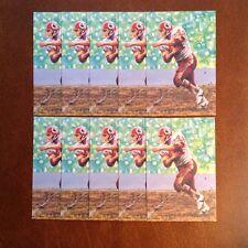 John Riggins Redskins Lot of 10 unsigned Goal Line Art Cards