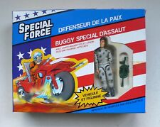 Vintage G.I.Joe SPECIAL FORCE Attack Buggy Special & Figure MIB 1980's