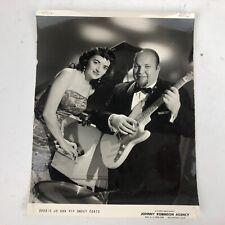 "Bobbie Jo Ann & Smoky Coats - Orig. Promo Press- Music Memorabilia Photo 8x10"""