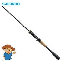 "Shimano POISON ULTIMA 162L-S Light 6'2"" bass fishing baitcasting one piece rod"
